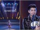 Noo Phước Thịnh được vinh danh ở hạng mục quan trọng nhất giải Cống hiến 2017: Ca sĩ của năm