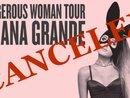 Đâu chỉ có Việt Nam, Ariana Grande cũng từng lỡ hẹn với fan quốc tế vì lý do sức khỏe