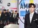 Điều mà người hâm mộ mong chờ bấy lâu đã đến: BTS và Jackson (GOT7) xuất hiện đầy lộng lẫy trên thảm đỏ AMAs 2017