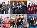 Danh hiệu 'nhóm nhạc xu hướng' và 'nhóm nhạc xuất sắc nhất 2017' là cuộc cạnh tranh giữa những Idolgroup nào? (P1: Boygroup)