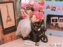 Chơi trội như đám cưới Kelvin Khánh - Khởi My: không dùng ô tô, rước dâu bằng dàn moto phân khối lớn