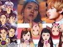 Chiêm ngưỡng 30 tấm Fan-Art lọt vào vòng chung kết của MAMA 2017