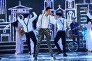 Đông Nhi - Tóc Tiên mạo hiểm đu dây, Noo Phước Thịnh diễn cực sung trên sân khấu chung kết Hoa Hậu Việt Nam 2016