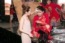 Bảo Anh chăm sóc tận tình Hồ Quang Hiếu trong hậu trường MV nhạc xuân