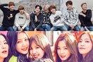 Ấm lòng trước tương tác dễ thương giữa BTS và Red Velvet trong một ngày giá rét