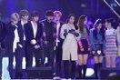 Điểm lại những lần idol Kpop khiến fan xót xa khi phải trình diễn giữa thời tiết khắc nghiệt