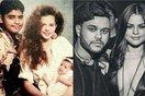 Lộ ảnh giống nhau đến bất ngờ của The Weeknd với bố đẻ Selena Gomez