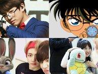 Những idol đáng yêu giống y hệt nhân vật hoạt hình