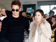 Bi Rain và Kim Tae Hee nắm tay không rời, lần đầu xuất hiện sau đám cưới