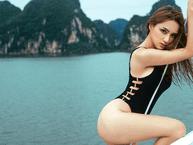 Nóng bỏng mắt với loạt ảnh bốc lửa của Hương Giang Idol