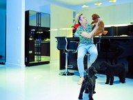 Khám phá nhà riêng đầy cún cưng của Dương Triệu Vũ