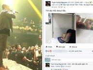 Fan lo lắng vì Tuấn Hưng phải nhập viện cấp cứu do kiệt sức