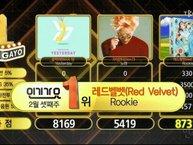 Inkigayo 19/2: Red Velvet tiếp tục mạch chiến thắng liên hoàn