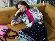 Hồ Ngọc Hà được mời ngồi hàng ghế đầu trong tuần lễ thời trang Gucci