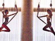 Chỉ là tập yoga, có cần đẹp như tiên cảnh thế này không Jisoo, Jennie (Black Pink)?
