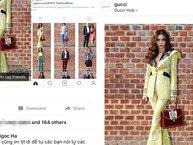 """Vừa bị chê mặc xấu và bị """"bơ"""", Hồ Ngọc Hà đã chễm chệ trên Instagram của Gucci"""