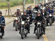 160 môtô diễu hành tưởng nhớ cố nhạc sĩ – ca sĩ Trần Lập