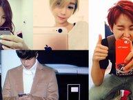 Chẳng khác gì chúng ta, các thần tượng Kpop cũng là tín đồ của iPhone