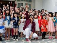 Trọng Hiếu quậy tưng cùng dàn thí sinh sơ tuyển Vietnam Idol Kids 2017