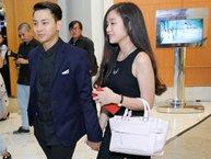 Hoài Lâm tay trong tay tình tứ cùng bạn gái tại đám cưới Mai Quốc Việt