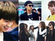 Apink, Seventeen xuất hiện nổi bật tại sân bay, trên đường đến Việt Nam