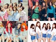 """""""Bản đồ girlgroup 2017"""" chứng minh mức độ nổi tiếng của các nhóm nữ Kpop thế hệ mới"""