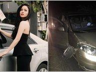 Gặp tai nạn xe hơi, Nhật Kim Anh vẫn không bỏ lỡ đêm diễn