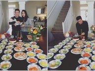 Vợ chồng anh hai Lam Trường hạnh phúc mừng ngày con gái đầy tháng