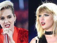 """Katy Perry """"đá xéo"""" Taylor Swift vụ tranh cử Tổng thống Mỹ"""