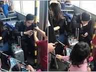 """Quang Vinh lên tiếng khi bị tố """"mất tư cách"""" do không nhường ghế cho trẻ em trên xe bus"""