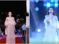 """Lần đầu xuất hiện sau scandal, Hồ Ngọc Hà vẫn """"vô duyên"""" với giải thưởng của Cống hiến 2017"""