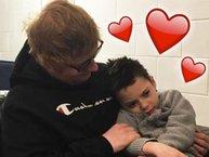 """Ed Sheeran lại """"đốn tim"""" người hâm mộ vì hành động đẹp với fan nhí"""