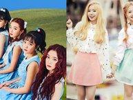 Top 9 nhóm nữ có khoảng cách chị cả và em út lớn nhất Kpop