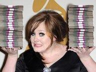 Adele là nghệ sĩ dưới 30 tuổi giàu nhất nước Anh