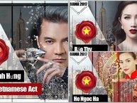 Loạt sao Việt tiếp tục lọt đề cử Nghệ sĩ Việt xuất sắc nhất tại BAMA 2017