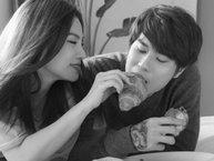 """Thu Thủy đã phải xin phép chồng vì quá tình tứ với """"trai đẹp"""" trong MV"""