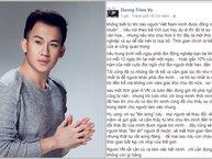 Dương Triệu Vũ đăng đàn bàn về văn hóa đến muộn của showbiz Việt