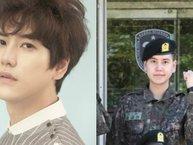 Hình ảnh đầu tiên của Kyuhyun (Super Junior) trong kỳ huấn luyện quân sự
