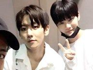 Cựu thí sinh Produce 101 hạnh phúc khi được Suho (EXO) chào trong concert