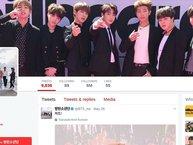 """BTS có thêm 1 triệu người """"theo đuôi"""" trên TWITTER chỉ trong vòng chưa đầy hai tháng"""