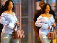 Rihanna nghi vấn mang thai vì vòng 2 to bất thường