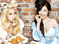 Ngưỡng mộ tình bạn thân thiết giữa Tiffany (SNSD) và Bora (Sistar)