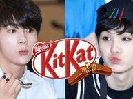 """Chuyện thật như đùa: Kit Kat cũng là một """"shipper ngầm"""" của BTS?"""