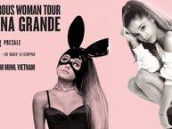 Công bố teaser chính thức tour diễn của Ariana Grande tại Việt Nam