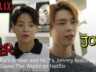 """Amber (f(x)) và Johnny (NCT127) xuất hiện tại series nổi tiếng """"Bill Nye saves the world"""" trên Netflix"""