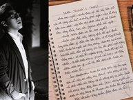 Thành khẩn nhận lỗi sau vụ cạnh khoé Jessica, Trung Quân Idol viết tâm thư xin lỗi fan Kpop lần 2