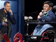 "Cậu bé ngồi xe lăn hát ""Rap God"" (Eminem) khiến dân mạng đổ gục"