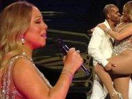 Mariah Carey lại bị dân mạng chế giễu vì khoe đùi to, nhảy tệ không tưởng