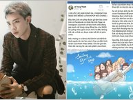 Hậu lùm xùm đạo nhái poster SNSD, Erik công khai xin lỗi fan Kpop