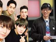 """Ấm lòng với hành động ấm áp mà """"MC Quốc dân"""" Yoo Jae Suk dành cho NU'EST ngay trong lần đầu gặp mặt"""